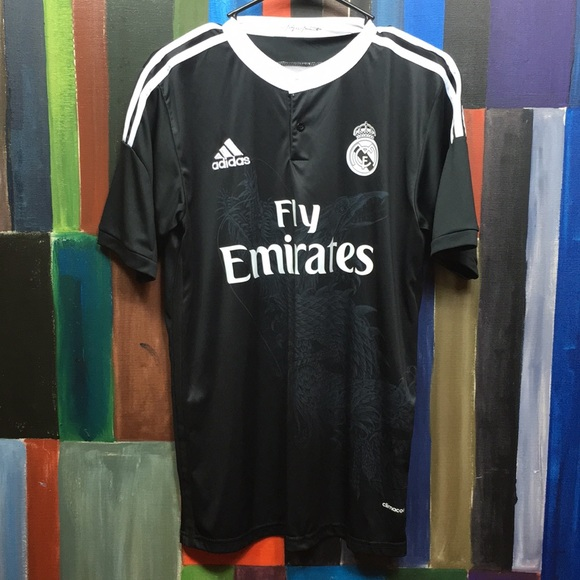 276b0f98a adidas Other - Adidas Real Madrid Black Dragon Futbol Jersey